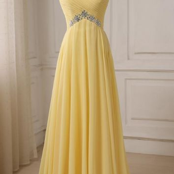 Sexy Prom Dresses Cap Sleeve Backless Bead Crystal Party Gowns Sleeveless Chiffon Evening Dress