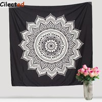 Hot Indian Mandala Tapestry Wall Hanging Boho Printed Beach Throw Towel Yoga Mat Table Cloth Bedding Home Decor 150Cm