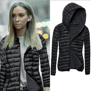 Winter Women's  Parkas Warm Coat Jacket