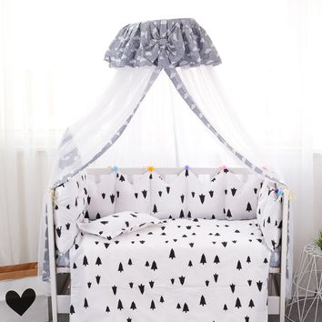 Baby Bedding Summer Mosquito Net Baby Crib Netting Toddler Infant Tents Princess Mosquito Mesh for Toddler Crib Cot coloful