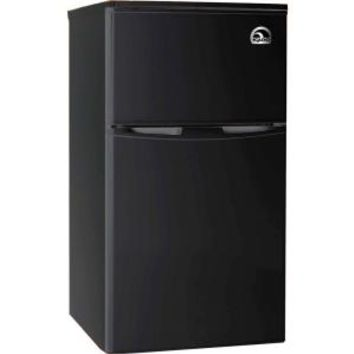 IGLOO, 3.2 cu. ft. Mini Refrigerator in Black, 2 Door, FR832-BLACK at The Home Depot - Mobile