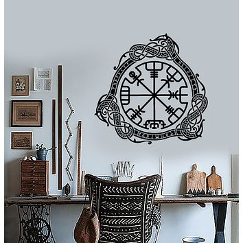 Vinyl Wall Decal Celtic Symbol Ornament Charm Runes Stickers (3262ig)