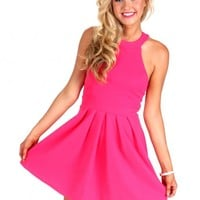 Back In Style Fuchsia Dress | Monday Dress Boutique