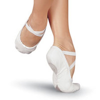 Pro Split-Sole Canvas Ballet Shoe; Sansha