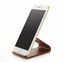 Wood Holder Cell Phone Stand Wood Mount for iPhone X 8 7 6s Plus