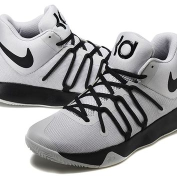 2017 Nike  Zoom Kevin Durant   Trey6  Gray/ Black    Basketball Shoes