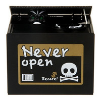 Creative Ghost Coin Bank (Black)