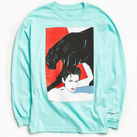 Patrick Nagel Panther Long Sleeve Tee | Urban Outfitters