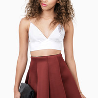 Nothing Is As It Seams Skater Skirt