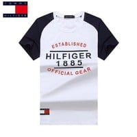 Tommy Hilfiger Casual Fashion Shirt Top Tee