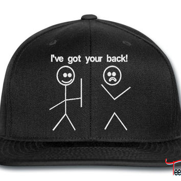i ve got your back snapback