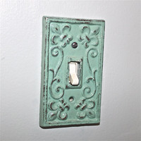 Jade Decorative Light Switch Plate