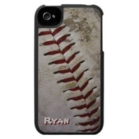 Grungy Baseball iPhone 4 Speck Case from Zazzle.com