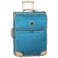 Diane von Furstenberg Luggage - New Hearts 25in. Expandable Wheeled Carry-on 1736C18 - Luggage Online