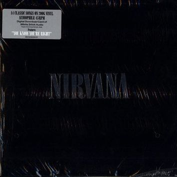Nirvana Self-titled Compilation 2x LP Deluxe 200g Vinyl 45RPM DL NEW