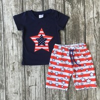 baby boys summer capri clothing children July 4th Patriotic clothes boys clothes boys boutique outfits only