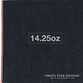 14.25oz Cone Red Orange Selvage