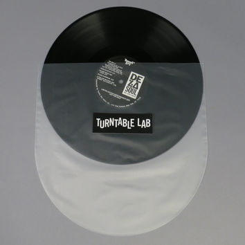 Turntable Lab: Round Bottom LP Sleeve (50 Pack)