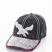 Bling Eagle Cap