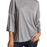 Philosophy Apparel | Solid Flutter Sleeve Tee | Nordstrom Rack