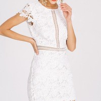 Lilly White Lace Dress