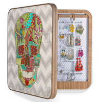 Sharon Turner Flower Skull BlingBox