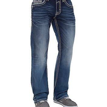 Rock Revival Warren Relaxed Straight Jean