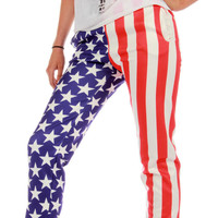 American Flag MFing Jogger Pant