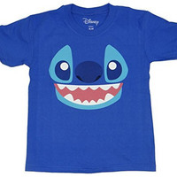 Disney Lilo and Stitch Face Kids T-shirt