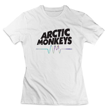 Arctic Monkeys galaxy Clothing T shirt Women