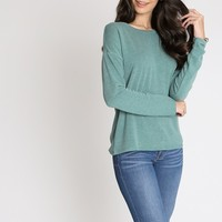 On The Road Top In Green | Ruche
