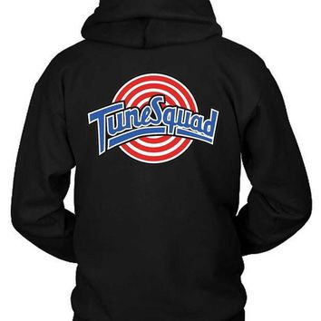 Tune Squad Logo Classic Hoodie Two Sided