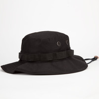 Rothco Boonie Boys Bucket Hat Black One Size For Women 25171310001