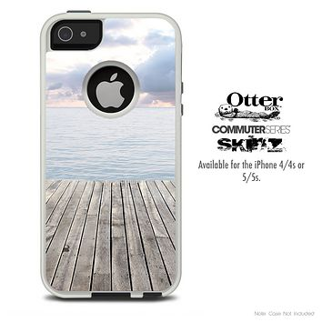 The Paradise Dock Skin For The iPhone 4-4s or 5-5s Otterbox Commuter Case
