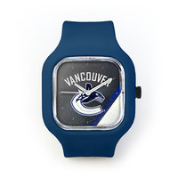 Vancouver Canucks Watch in a Navy Strap
