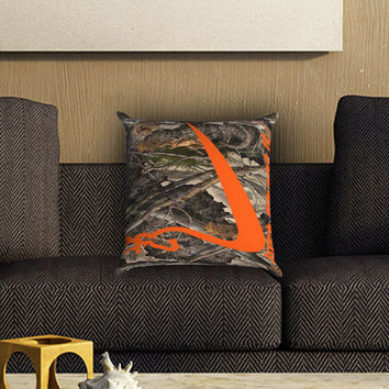 Nike Browning Just Shoot It Pillow Cover , Custom Zippered Pillow Case One Side Two SIde