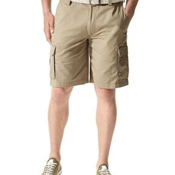 Dockers Cargo Short - Brown,White - Men's