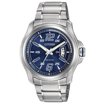 Men's Drive from Citizen Eco-Drive HTM Blue Dial Watch