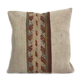 20x20 Kilim Pillow, Rug Pillow Cover, Decorative Kilim Pillow, Ethnic Pillow, Throw Pillow, Cushion Cover, Kilim Lumbar, Kilim Pillow