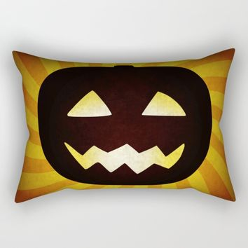 Vintage Halloween pumpkin gifts Rectangular Pillow by Natalia Bykova