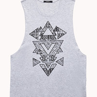 Geo Arrow Muscle Tee