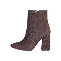 Fontana 2.0 Black Embroidery Ankle Boots