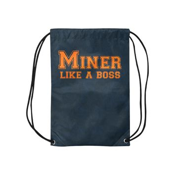"El Paso University ""Like a Boss"" Drawstring Bag - Blue"