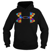 Autism Under Armour Shirt Hoodie