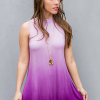 Siesta Key Ombre Dress in Purple