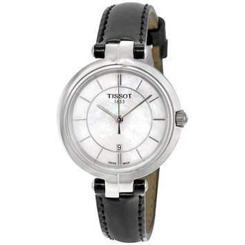 Tissot Flamingo Mother of Pearl Dial Ladies Watch T094.210.16.111.00