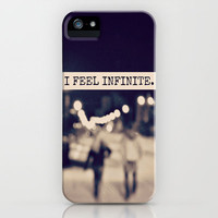 I Feel Infinite iPhone Case by Caleb Troy | Society6