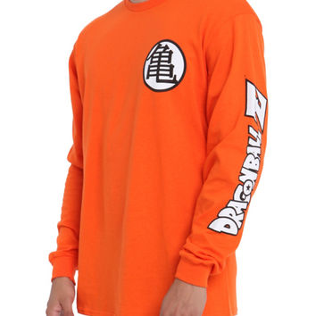 Dragon Ball Z Kame Symbol Long-Sleeved T-Shirt