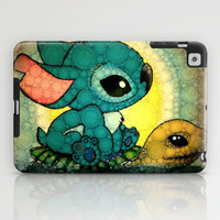 Swimming Stitch iPad Case by Alohalani