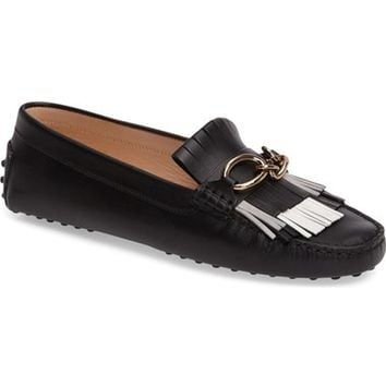 Tod's Gommini Driving Moccasin (Women) | Nordstrom